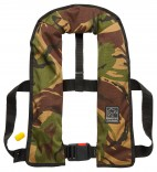 Harveys 'Stalker' Manual Camo Pattern Gas Fishing Lifejacket - Save £10!