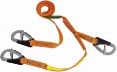 Baltic Premium Quality Triple hook lifejacket lifeline 1.7M