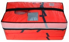 Set of 4 Emergency 100N Lifejackets - One Size Age 10 to XL Adult