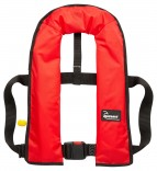 Bluewave 150N Red Manual 'Pull Cord to Inflate' Gas Lifejacket