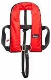Bluewave Red 150N Automatic Lifejacket with harness & crutch strap