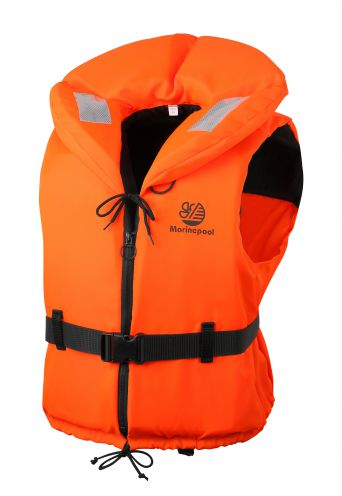 adult orange foam life jackets in all sizes, lifejackets